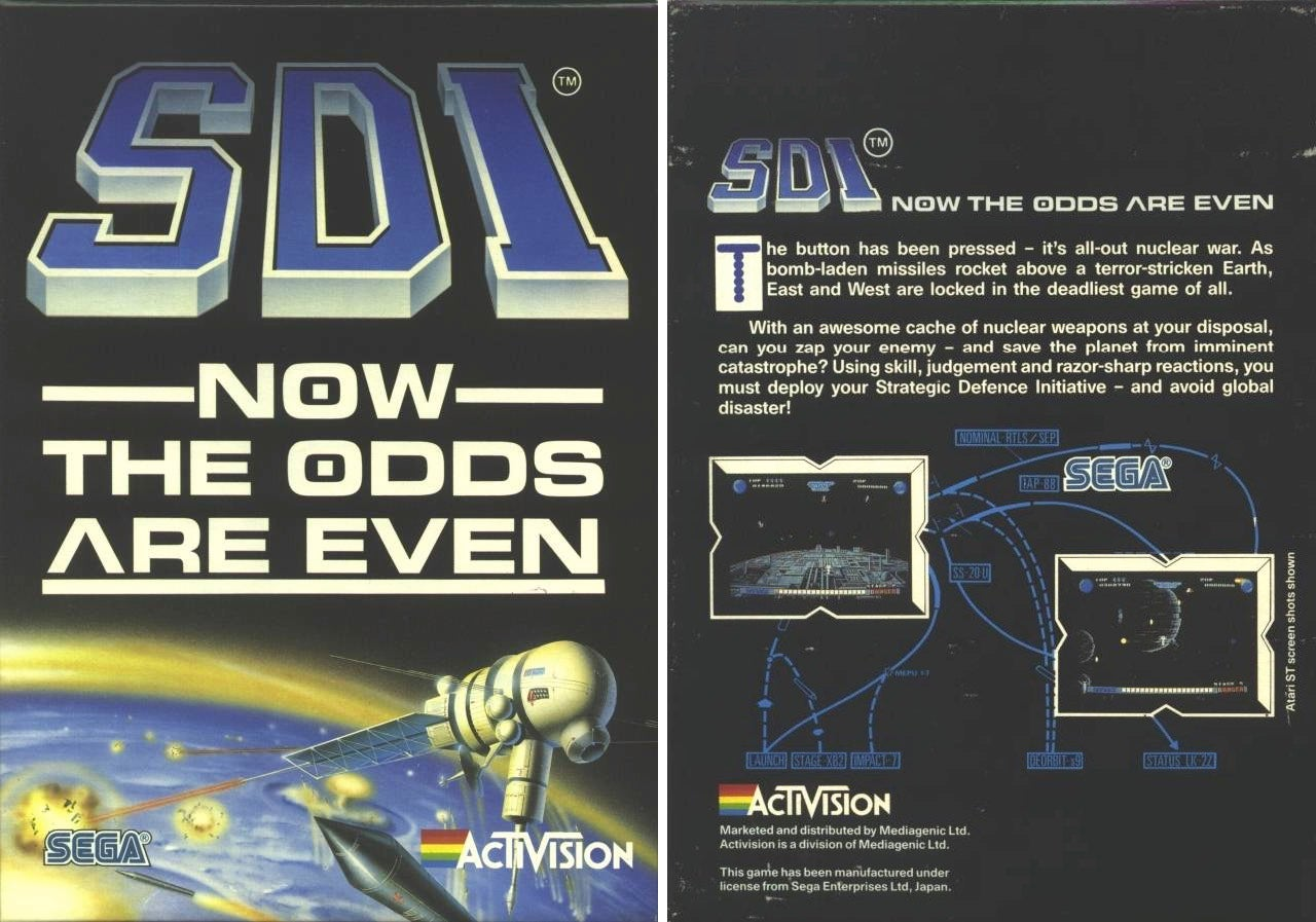 Reagan's Star Wars Missile Program Had Its Own Video Game