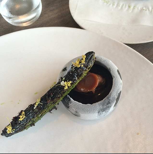 This is what a full meal looks like in the world's best restaurant