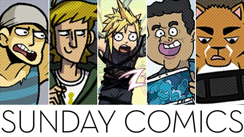 Sunday Comics: It's Not Like Anyone's Getting Hurt