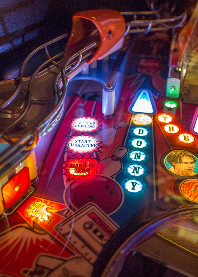 The Big Lebowski Pinball Table Has Everything A Dude Needs