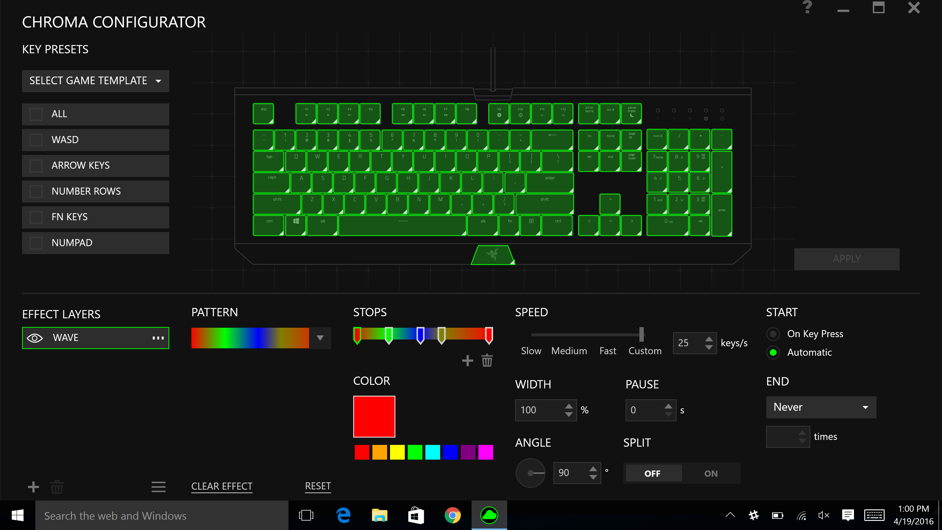 razer chroma apps