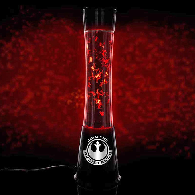 There's an Epic Space Battle Happening Inside This Star Wars Lava Lamp
