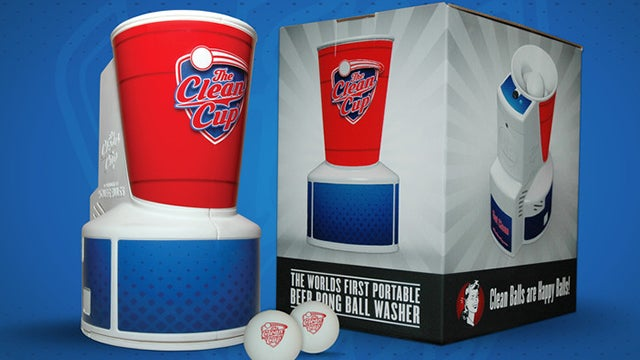 Beer Pong Ball Washer Solves Every Undergrad's Worst Nightmare