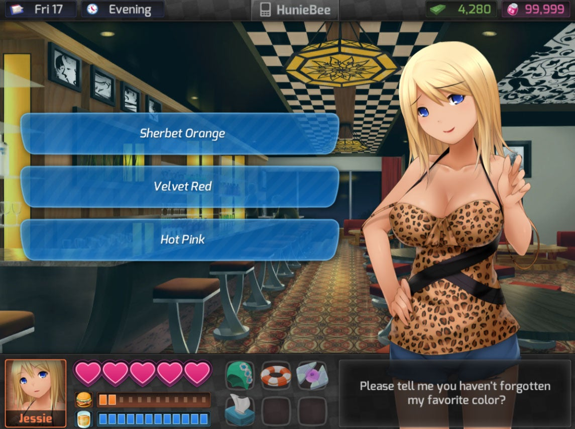Hentai girl touch game walkthrough