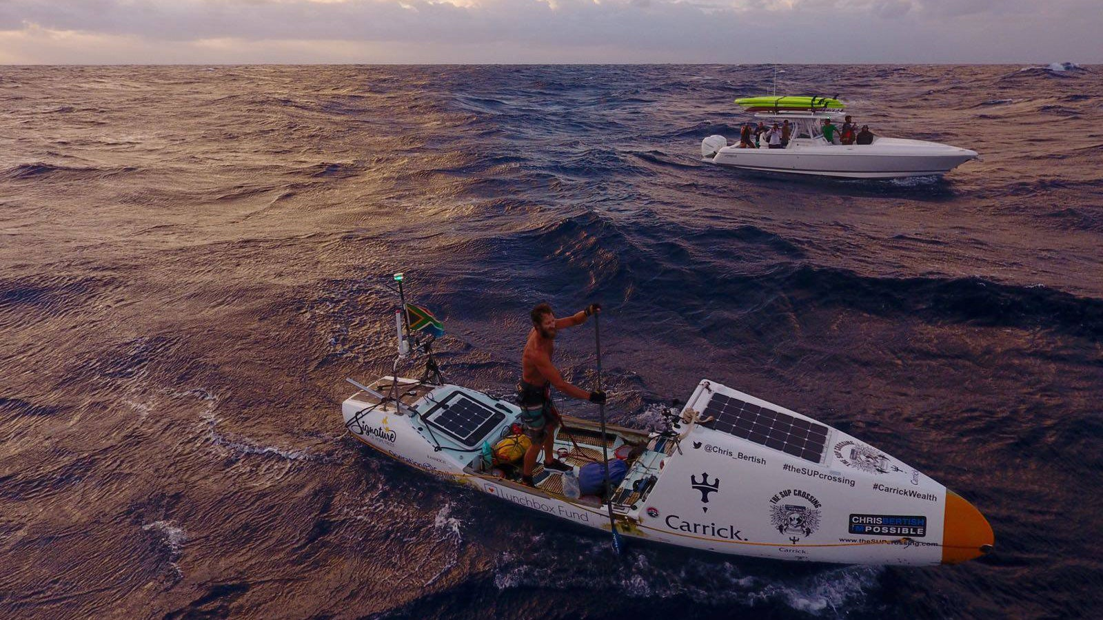 This Maniac Just Crossed The Atlantic On A Damn Paddleboard