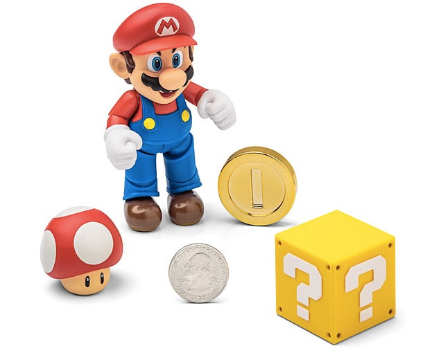 A Super-Articulated Mario Figure Is Just What We Needed