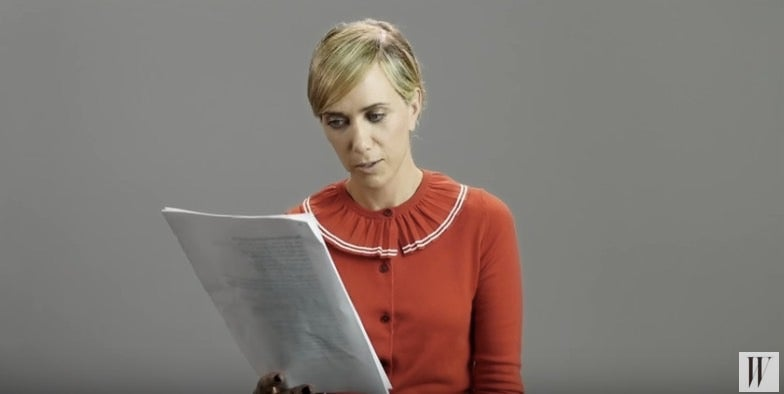 I Could Watch Kristen Wiig Perform Hannibal Lecter Monologues For Hours