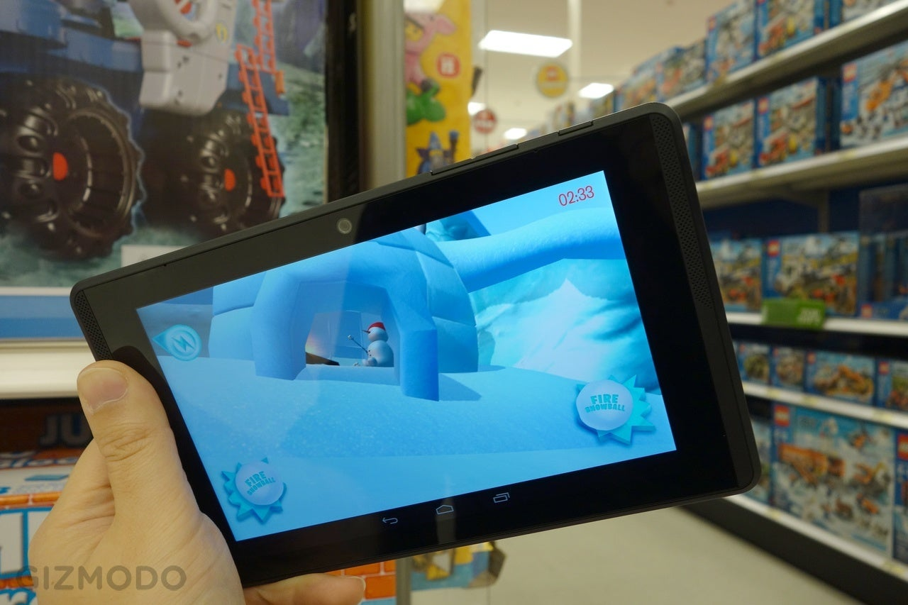 Google's Reality-Bending Tablet Turned My Target Into an Icy Playground