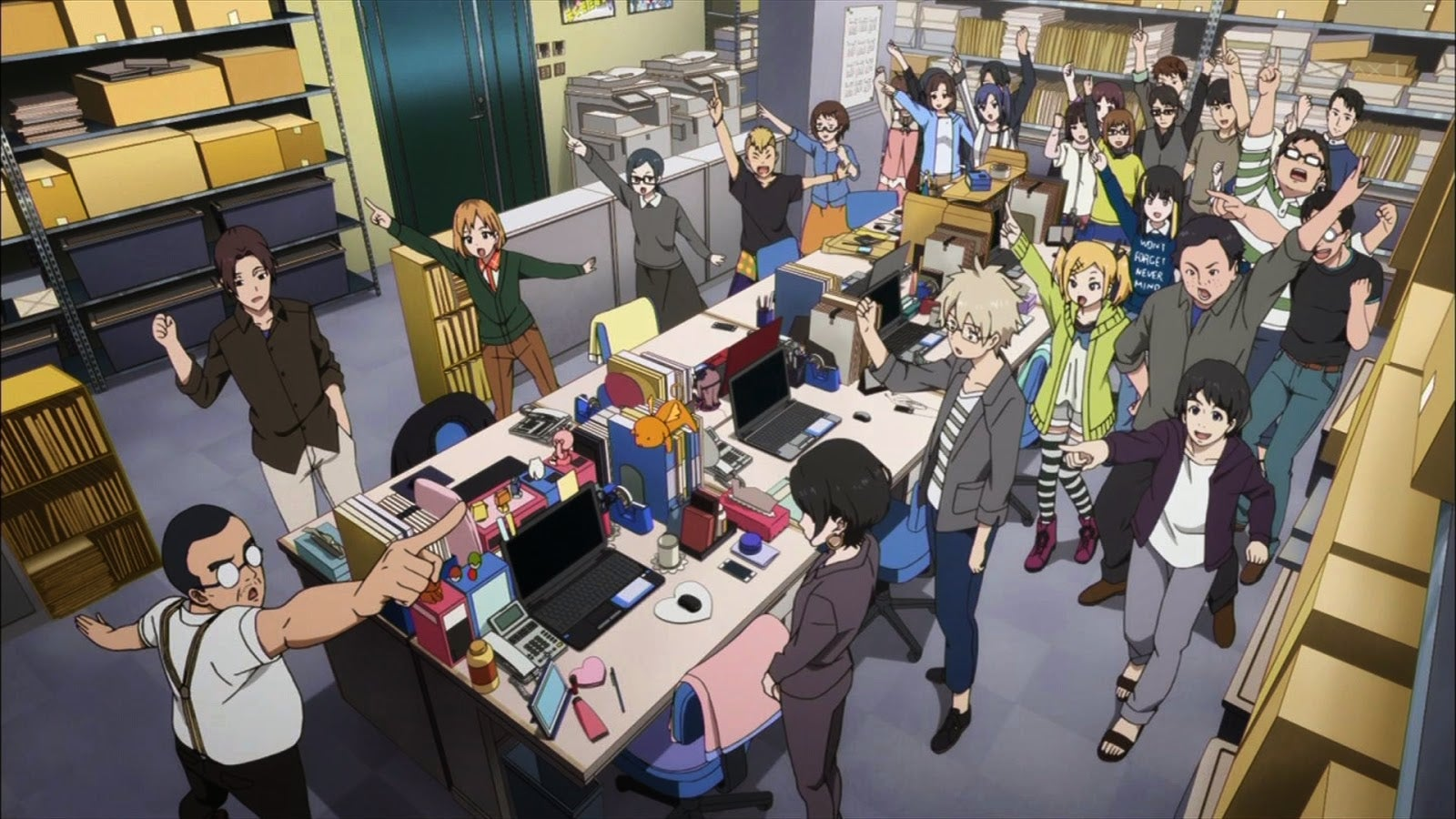 For an Anime Studio, This Looks Pretty Nice