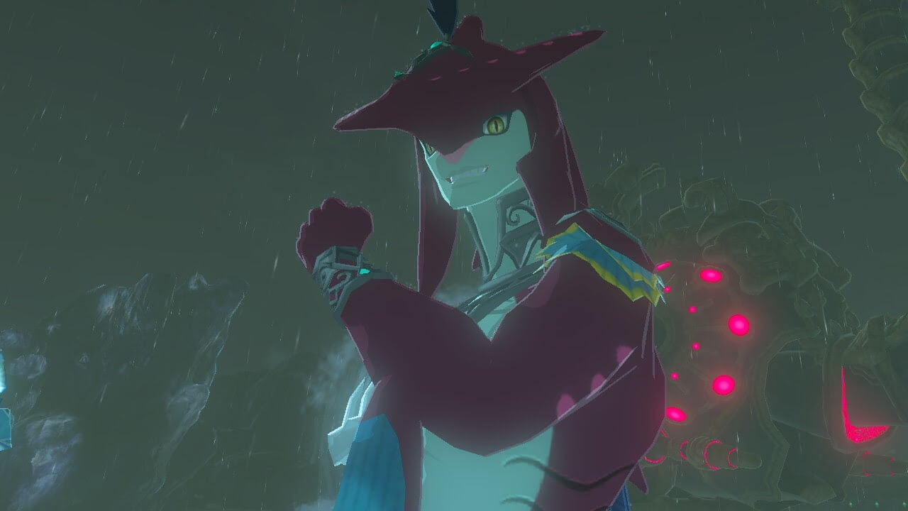 Breath Of The Wild's Shark Prince Is Getting A Lot Of Love From Thirsty Zelda Fans