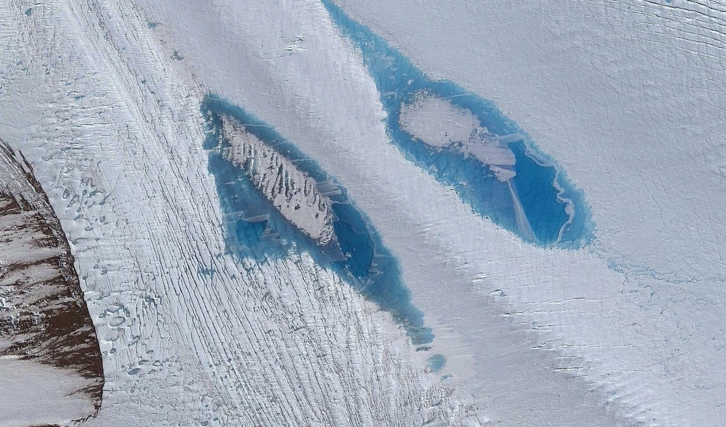 Beautiful Blue Lakes Are Invading East Antarctica And That's Not Good