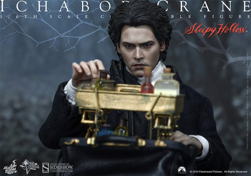 Hot Toys' Ichabod Crane Perfectly Captures Depp's Perpetual Confusion