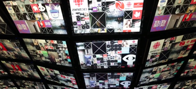 This Real-Time Installation Of Social Media Feeds Is Insane