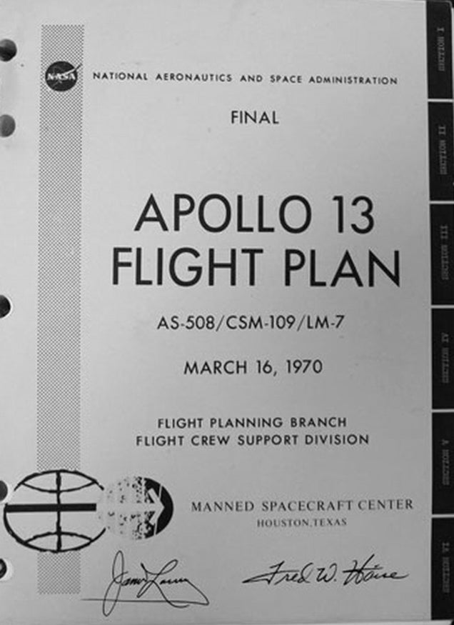 This is the actual hack that saved the astronauts of the Apollo XIII