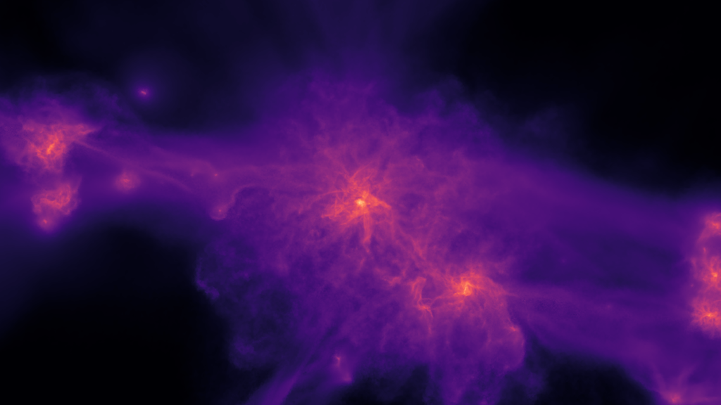 Let These Mind-Blowing Galaxy Simulations Melt Your Face Off
