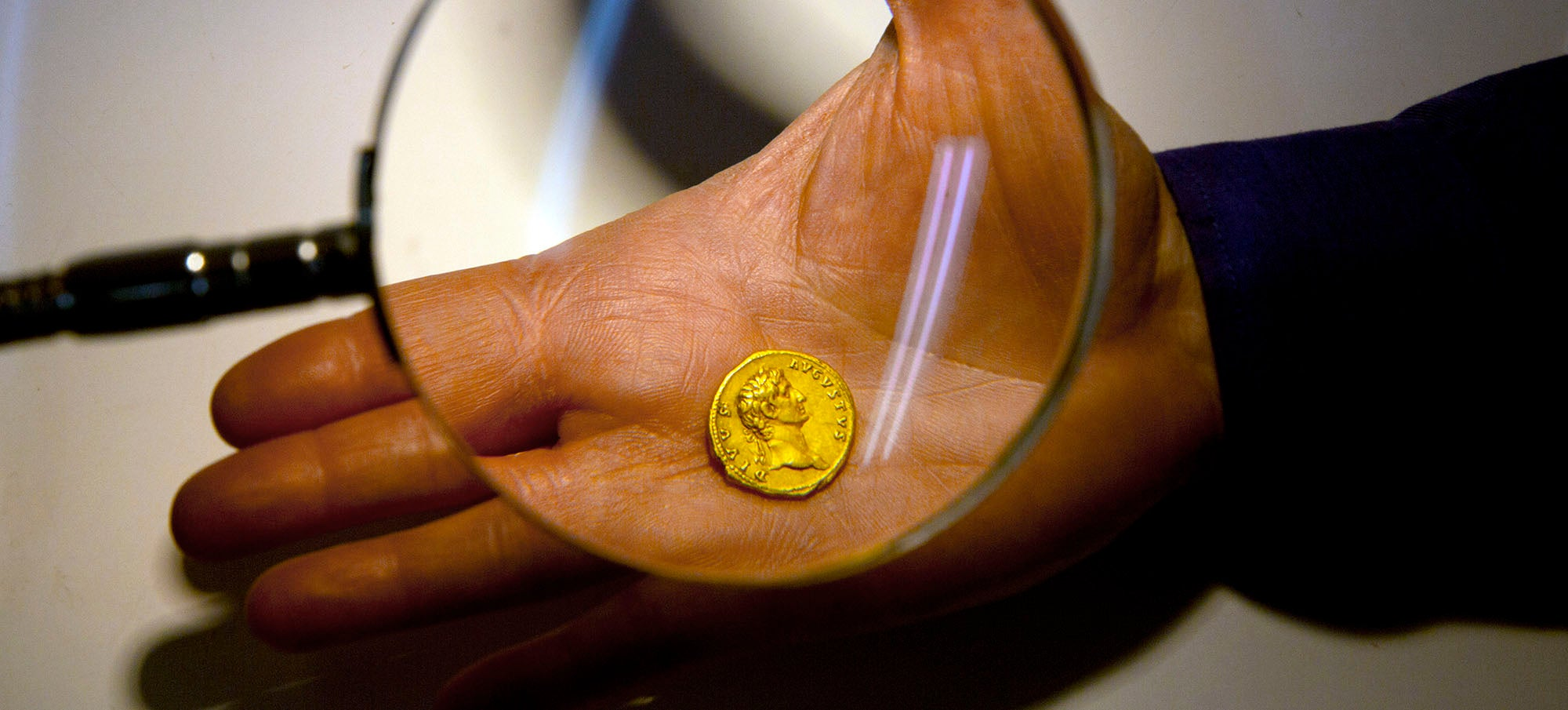 A Hiker Stumbled Across This Incredibly Rare 2,000-Year-Old Gold Coin