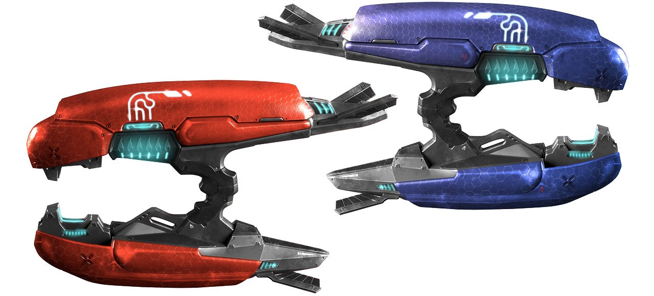Perfect Halo Plasma Rifle Replicas Prove the Covenant Has the Best Toys