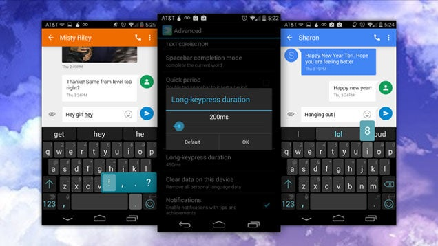 Change Your Long-Press Duration Settings in SwiftKey for Faster Typing