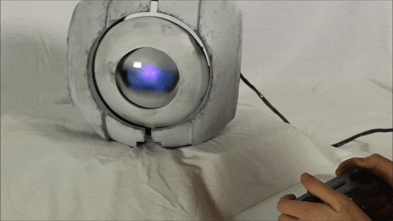 Portal 2 Wheatley Replica Comes Complete With Movement And Sound