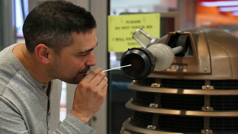 A Doctor Who Dalek Is Helping Exterminate Antibiotic-Resistant Superbugs