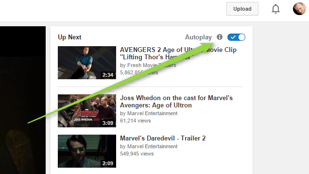 Disable YouTube's New AutoPlay Feature with This Button