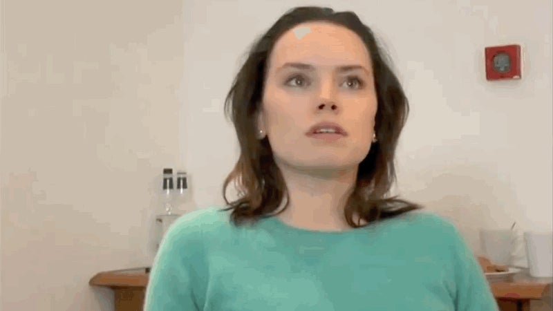 Daisy Ridley's Force Awakens Audition Was Intense As Hell