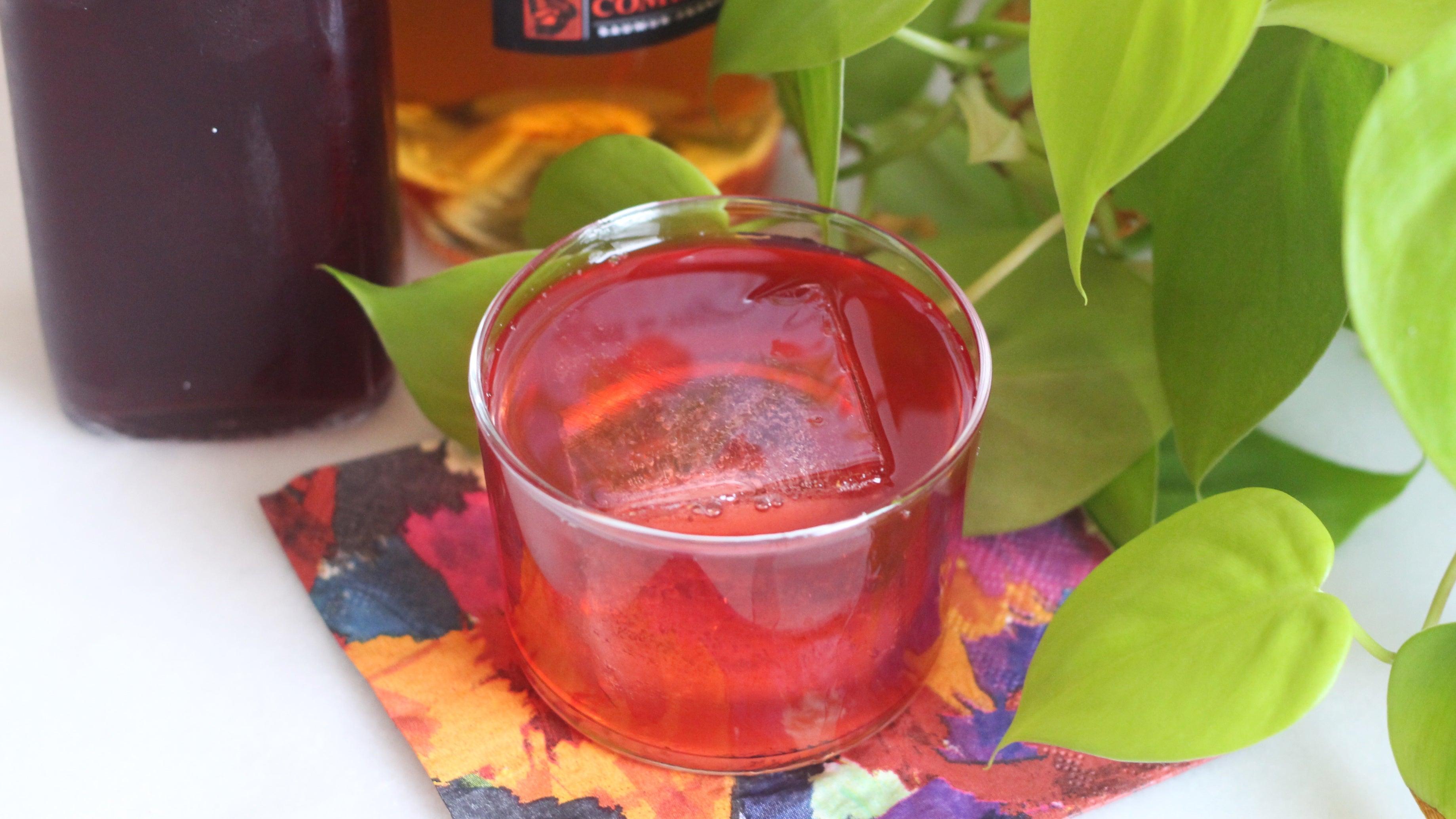 Peach Liqueur Was Made For Shrubs