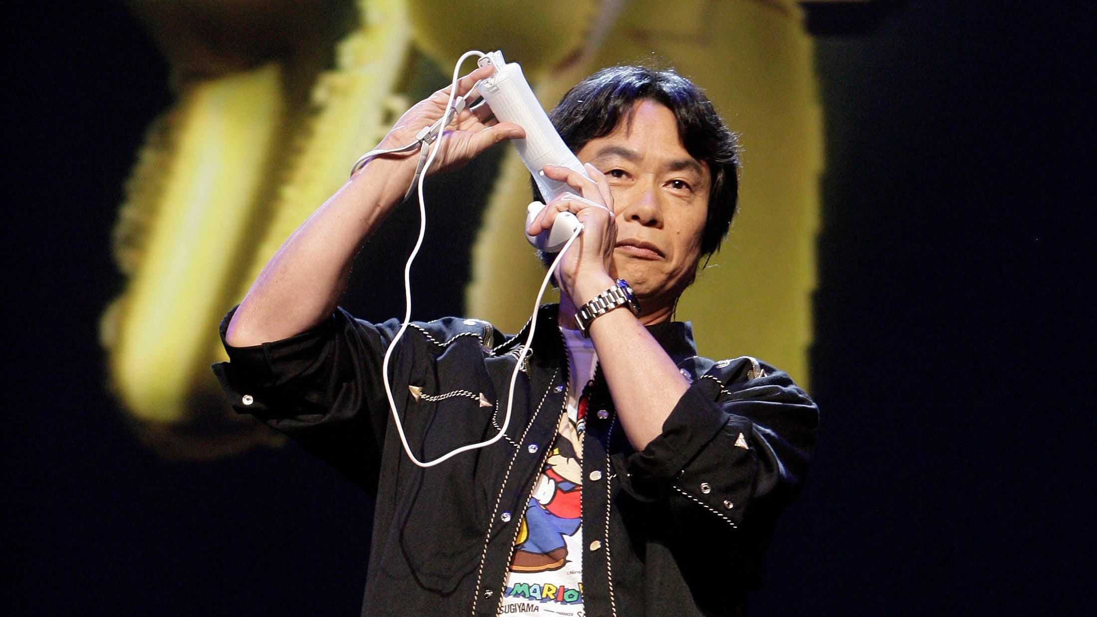 Miyamoto Still Wants To Reinvent The Controller