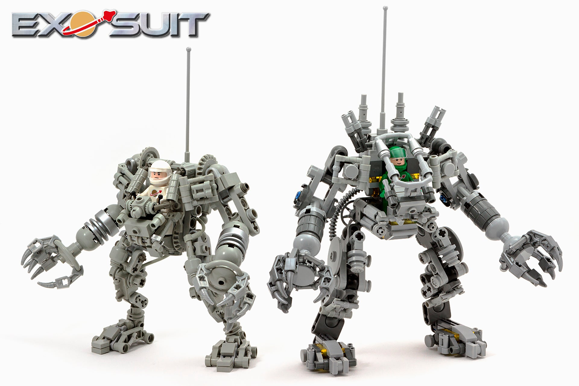 The Exo Suit Ushers In A New Age Of LEGO Space Exploration
