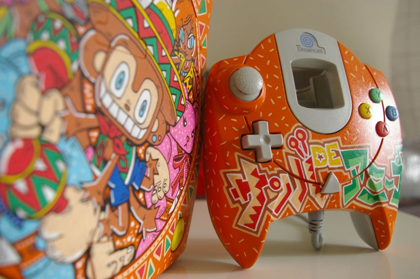 Fancy Dreamcasts & Controllers Belong In A Museum