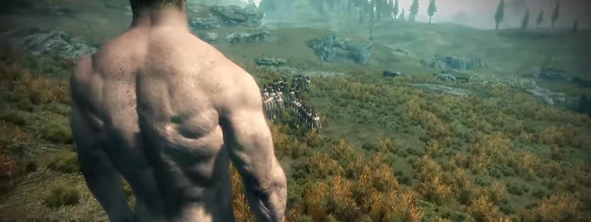 50 Naked Men Fight To The Death In Skyrim, Because Mods