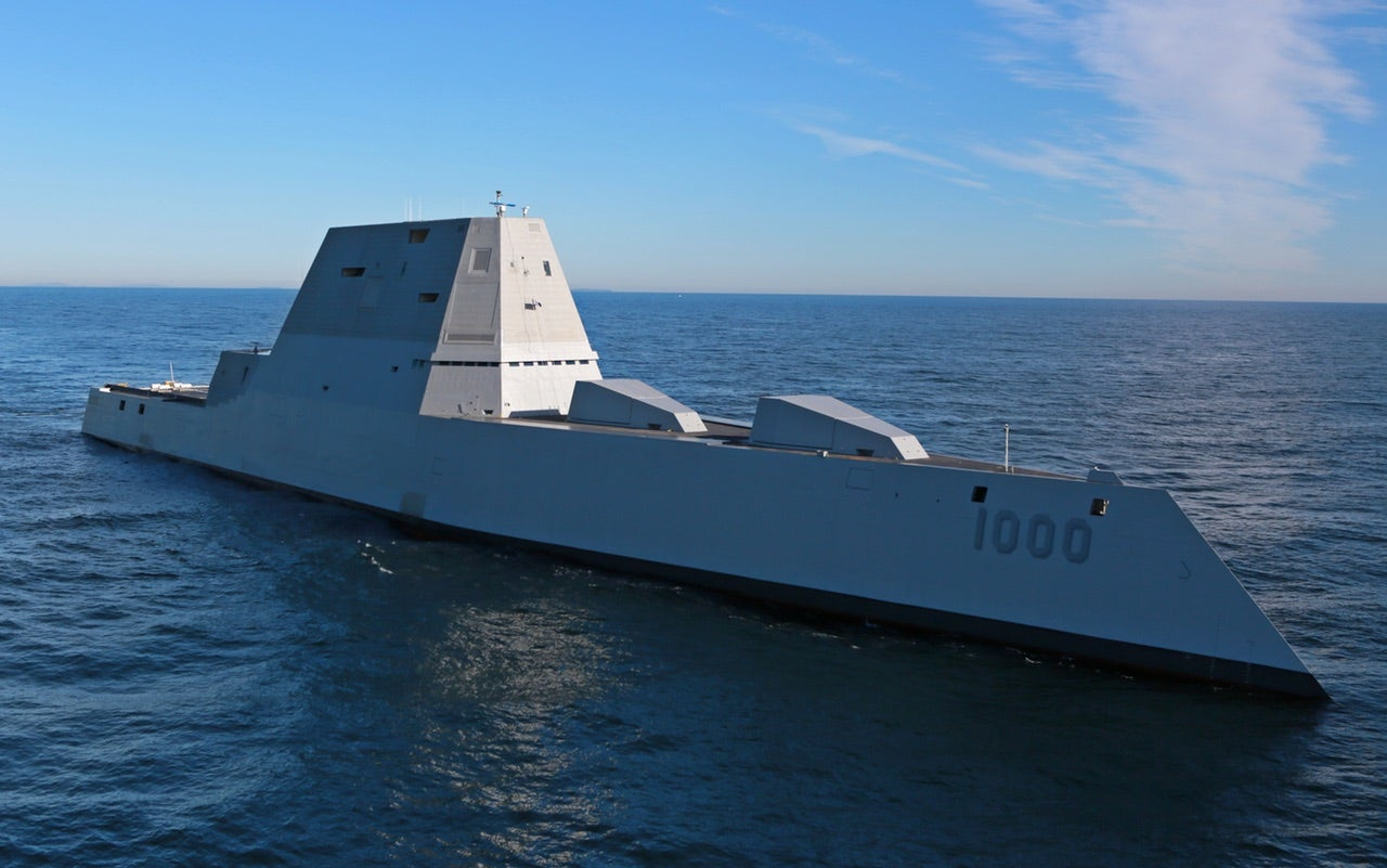 The US Navy's New Warship Gun Costs $1 Million To Fire