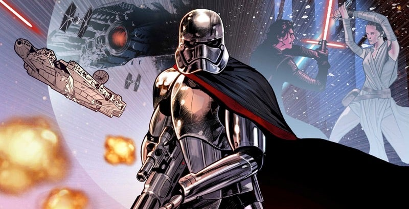 Captain Phasma Will Escape From Starkiller Base In Her Own Comic Miniseries