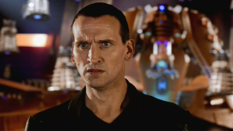 Here's The Original Script For The Doctor Who 50th Anniversary Special, Starring Christopher Eccleston