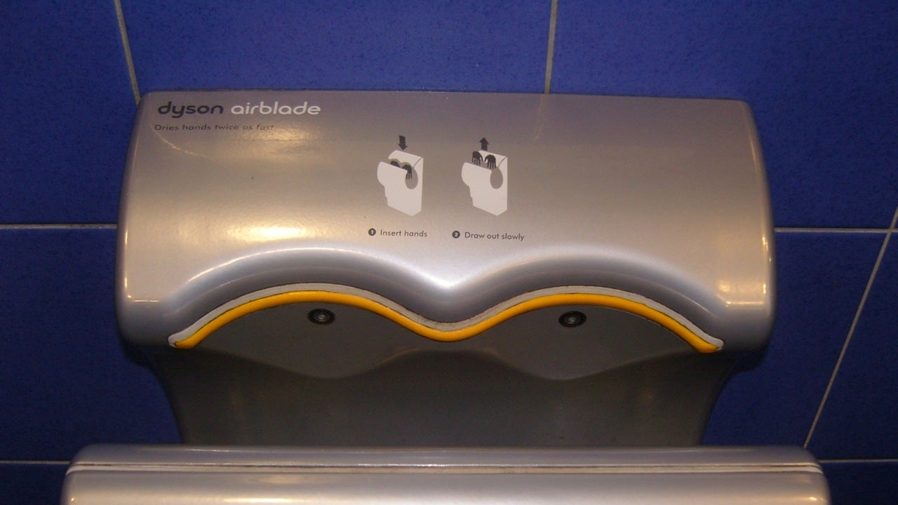 Don't Judge Your Hand Dryer By Its Petri Dish