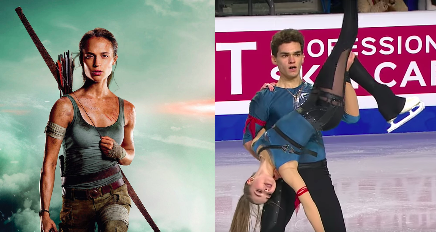 Figure Skaters' Routines Keep Referencing Video Games