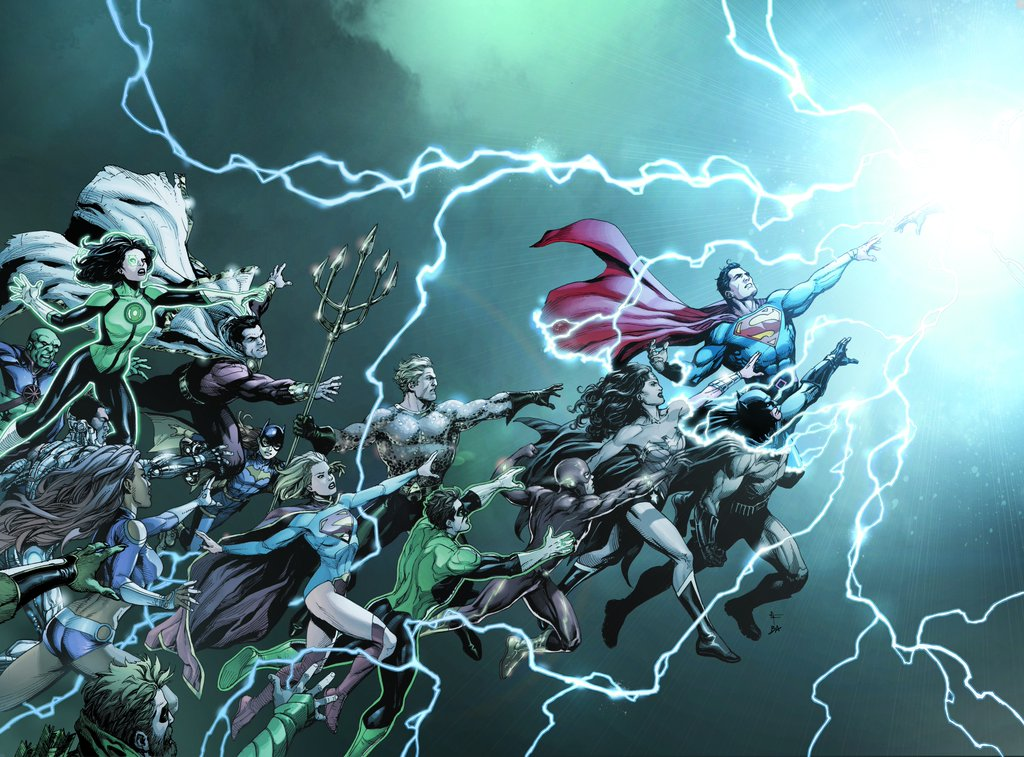 DC Comics Just Unveiled the Titles and Creative Lineup Behind Rebirth