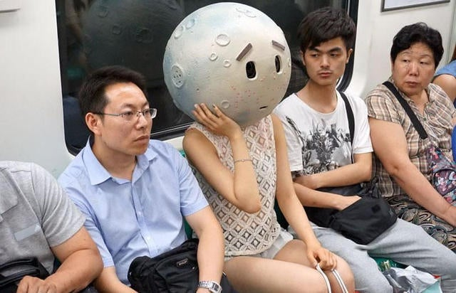 The Moon Is In Beijing! She Looks Concerned
