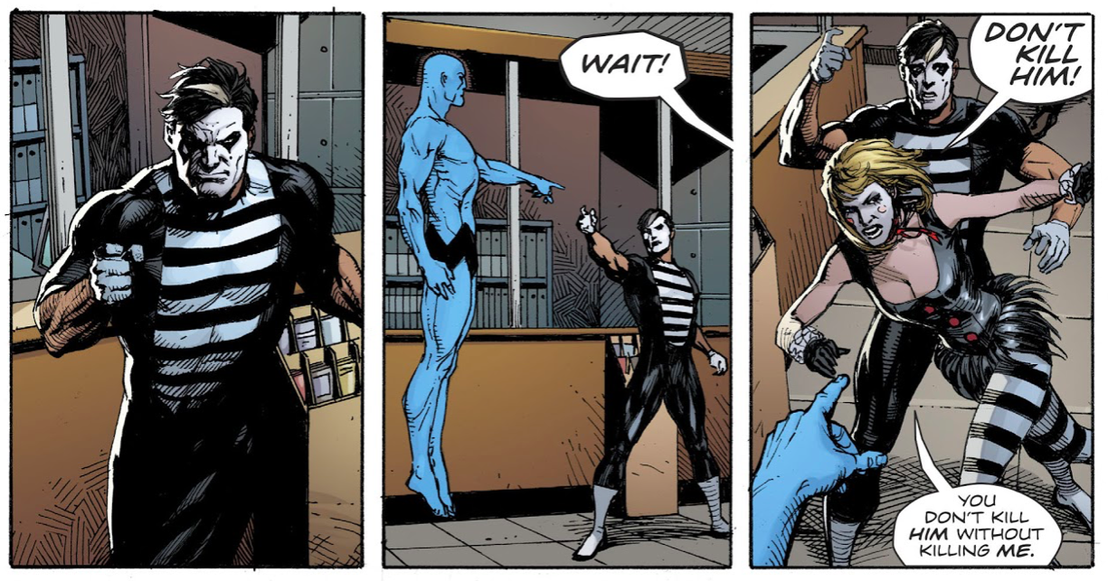 The Mime Is Doomsday Clock's Most Intriguing Mystery Of All