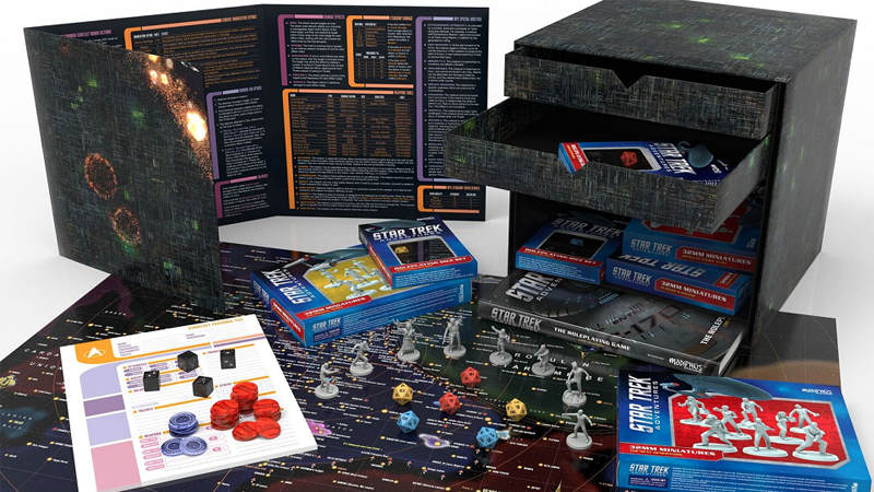 Of Coursethe New Star Trek RPGComes In A Borg Cube Box