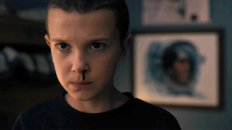 Millie Bobby Brown Kept A Vial Of Eleven's Nose Blood From Stranger Things
