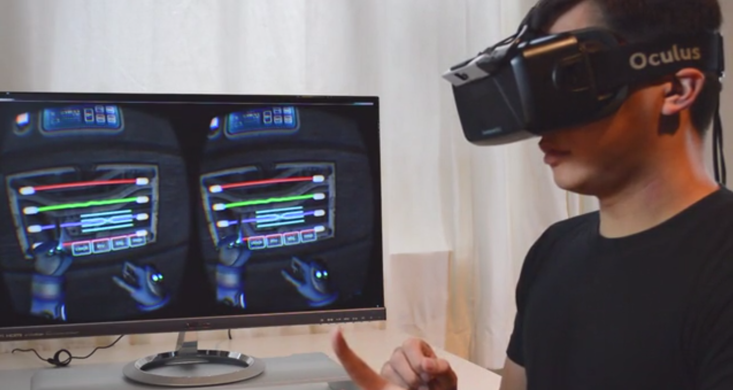 The Next Version of the Oculus Rift Might Let You See Your Hands