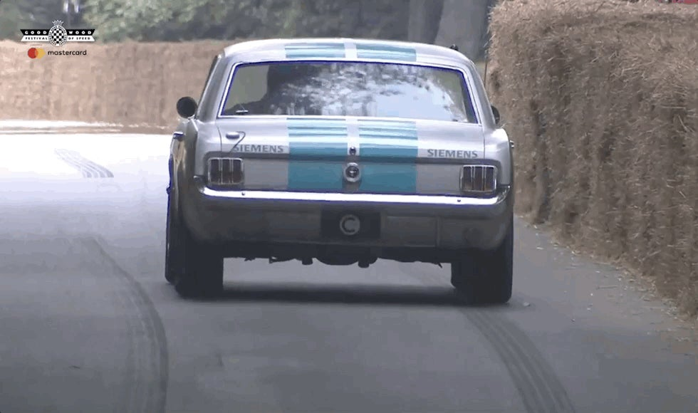 autonomous-cars feature ford-mustang goodwood-festival-of-speed jalopnik siemens video