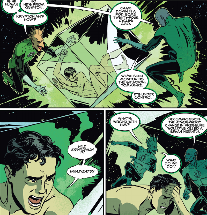 The First Time Superman Flew Into Space Was Delightful and Emotional