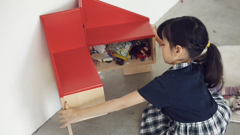There's a Dollhouse Hidden Inside This Transforming Chair