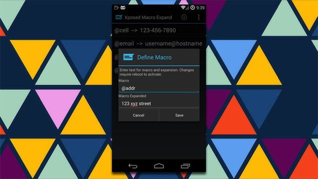 Macro Xposed Module Brings Text Expansion to Any Android Keyboard