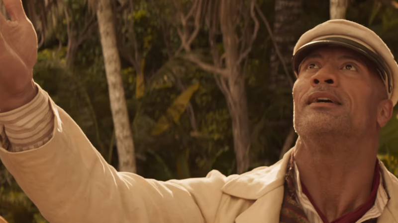 In The First Trailer For Disney's Jungle Cruise, The Rock Is A Con Man Skipper On A Quest