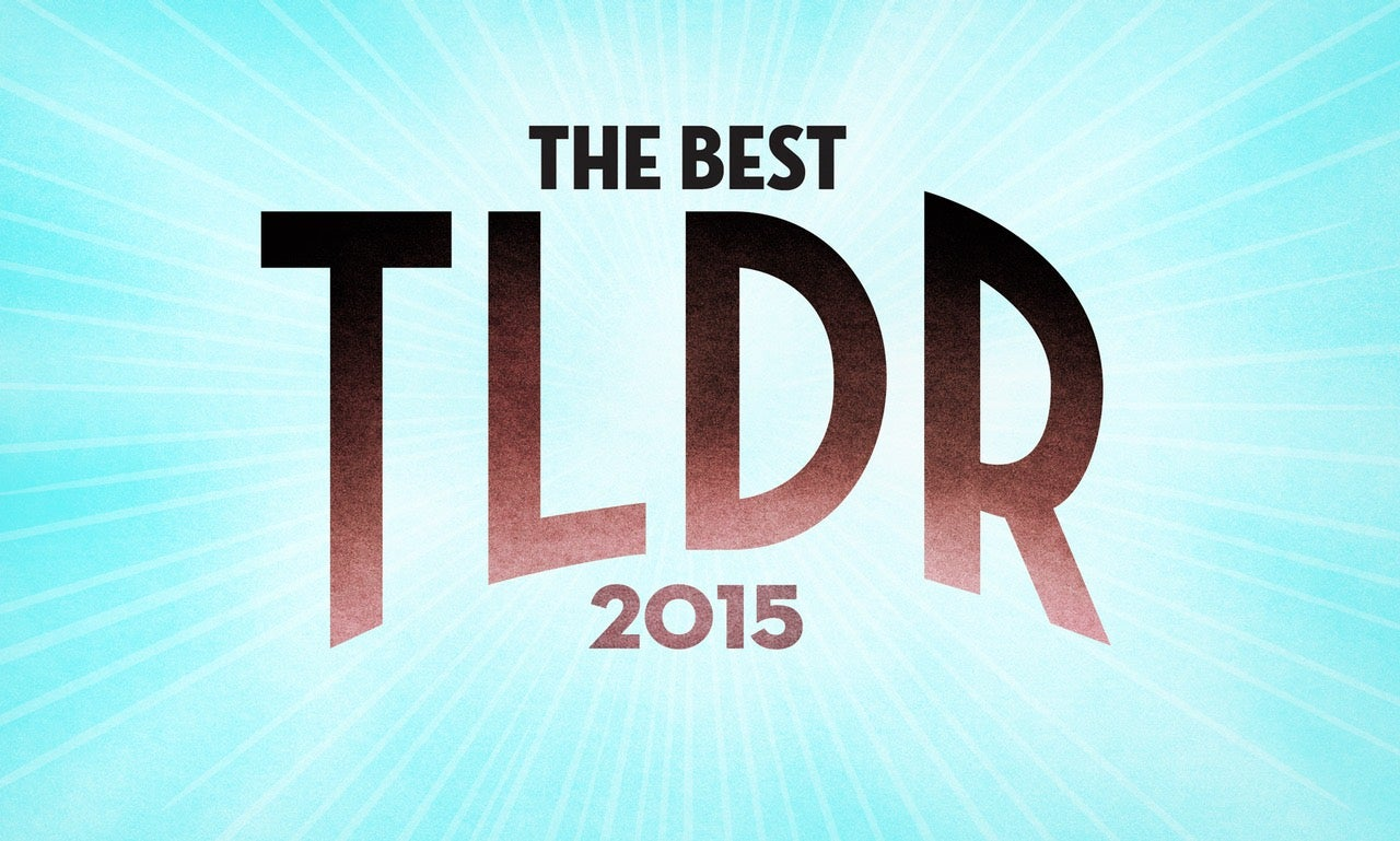 TLDR: All the Paleofuture Stories From 2015 You Swore You'd Read Later