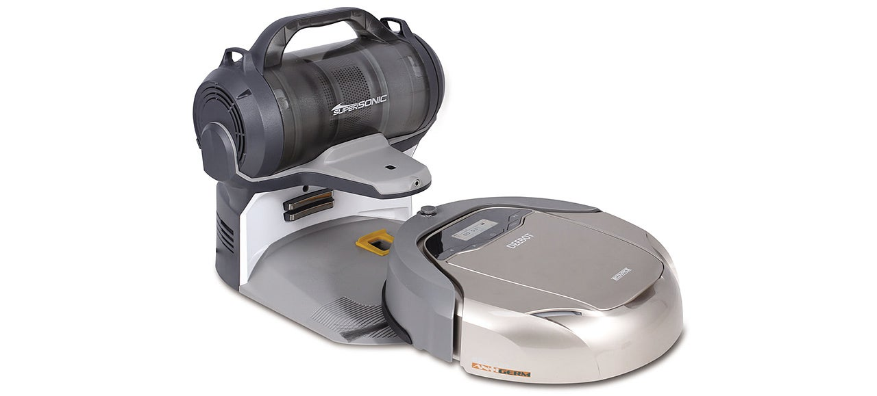 A Cordless Canister Vac Lets This Robovac Clean More Than Just Floors