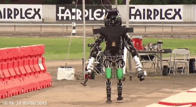 Watch the Next Generation Atlas Robot Get Bullied By A Mean Human (And Stay On His Feet)
